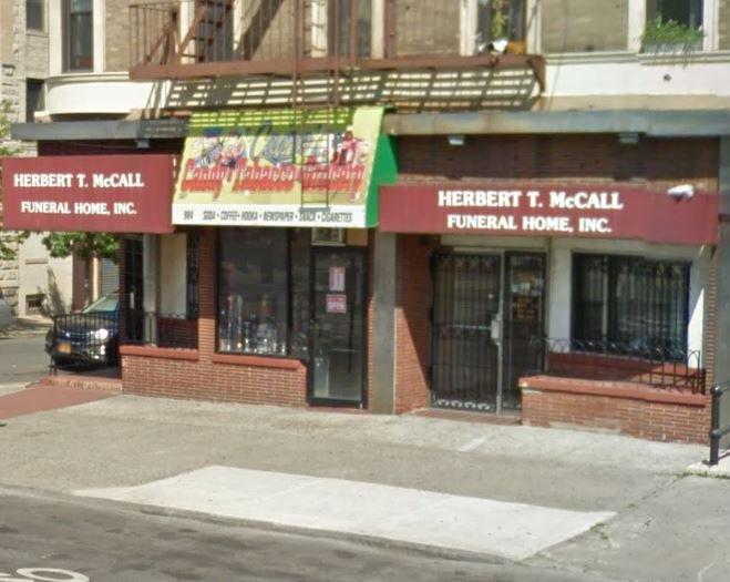 Herbert T McCall Funeral Home
