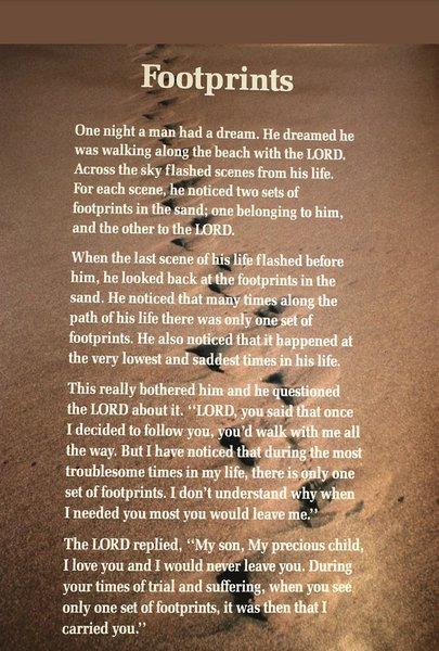 Dads favourite poem. 💕x