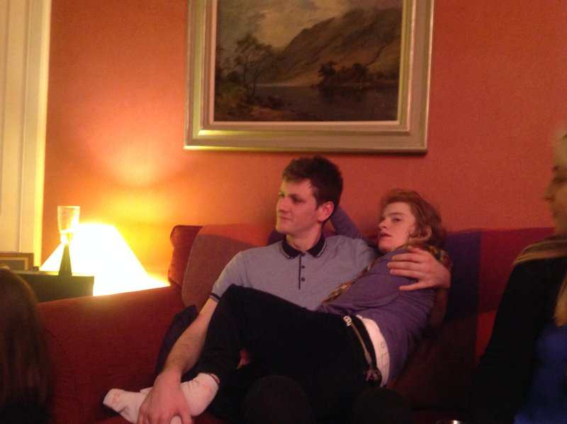 Mirren with her big brother x