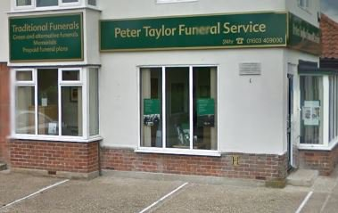 Peter Taylor Funeral Service, Norwich Boundary Road