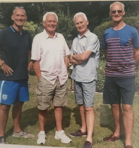 The Worthington boys minus Bob