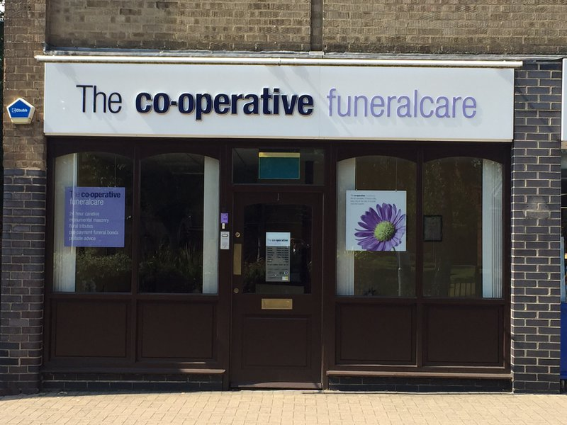 The Co-operative Funeralcare Lutterworth, Leicestershire, funeral director in Leicestershire