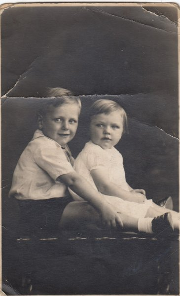 Jack and his younger sister Margaret
