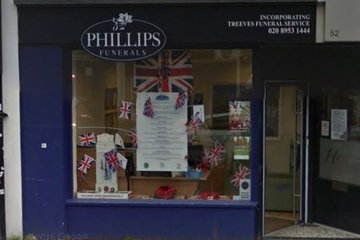 Phillips Funeral Directors, Borehamwood