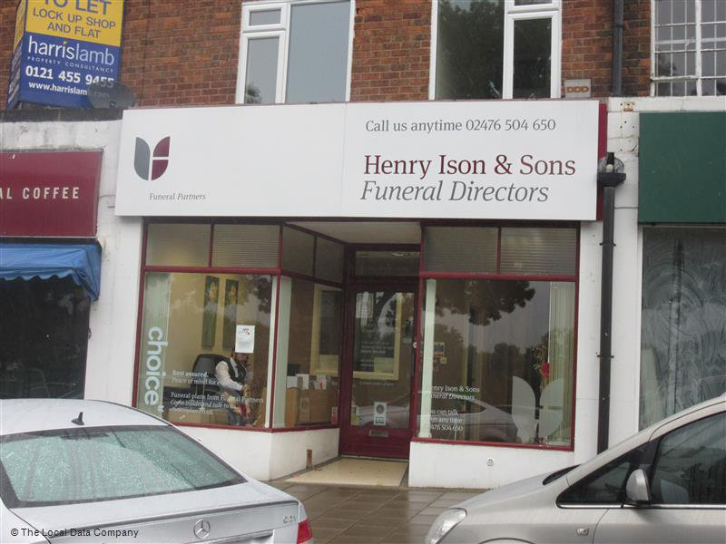 Henry Ison & Sons Funeral Directors, Daventry Road