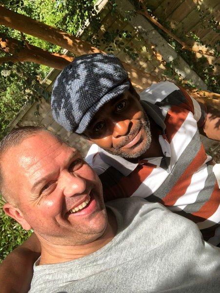Paul Junior with Paul Senior ❤️