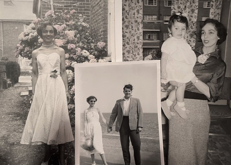 Mum and Dad, Phyllis and Les with all our love xxx
