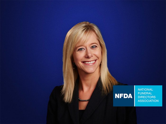 A portrait of Lacy Robinson, the National Funeral Directors Association's director of member development