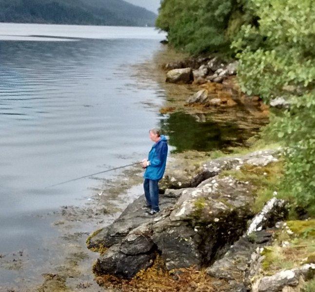 Fishing at Loch Long