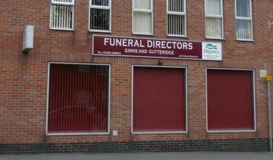 Ginns & Gutteridge Funeral Directors, Loughborough