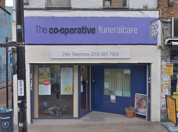 Co-op Funeralcare, Deptford