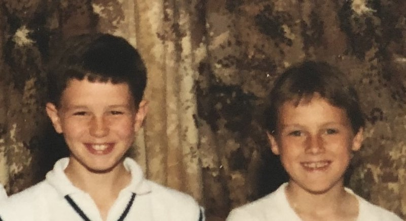 So many great childhood memories mate - I see your boys in all the sports pics I have of us. Never did tell you I was jealous of that cricket pullover!!
