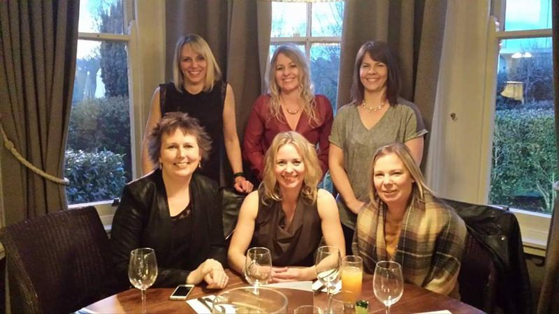 A school reunion organised by Corrine.