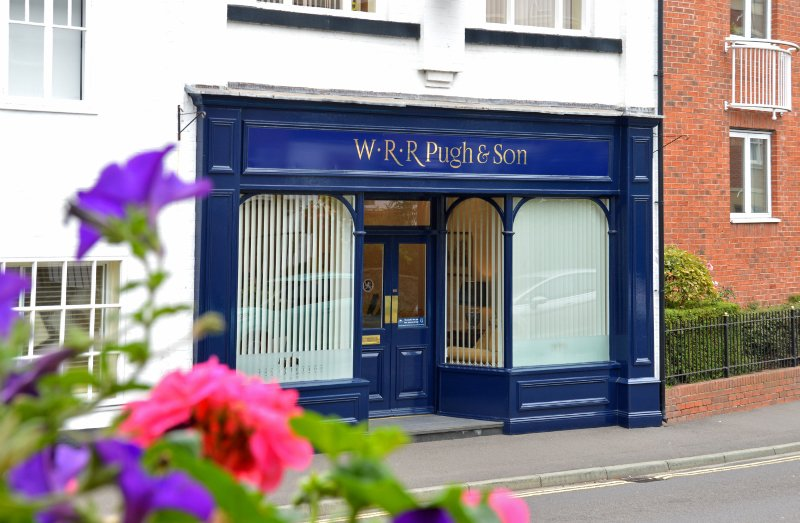 WRR Pugh & Son Funeral Directors, Shropshire, funeral director in Shropshire