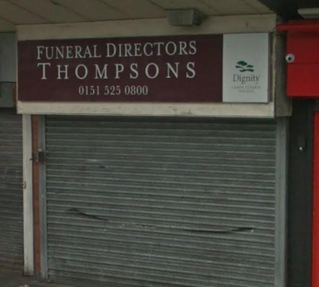 Thompson Funeral Directors, Marian Sqaure, Merseyside, funeral director in Merseyside
