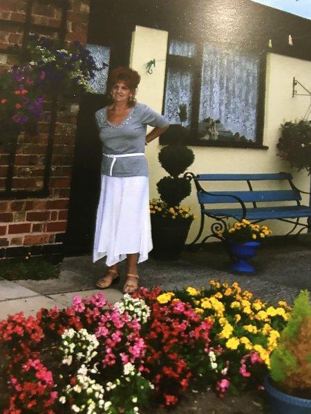 Mums beautiful garden