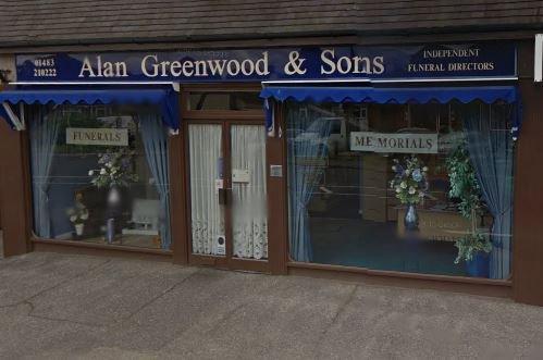 Alan Greenwood & Sons Send, Surrey, funeral director in Surrey