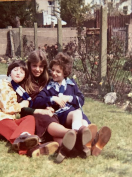 Cousins ❤️ Tina, Linda and me. I remember fondly of the Saturday visits to grandma. Lovely, fun memories I will cherish xxx