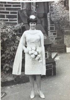 Shirley as Patricia's bridesmaid 1965                                                                                                                                                                              Photo provided by Patricia