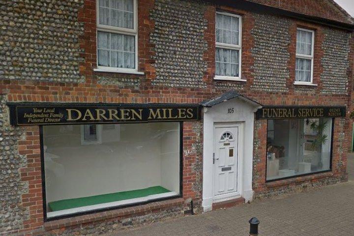 Darren Miles Funeral Service