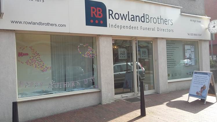 Rowland Brothers Purley, London, funeral director in London