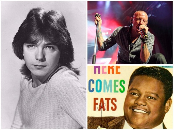 US Celebrity Deaths 2017 - David Cassidy, Chester Bennington & Fats Domino