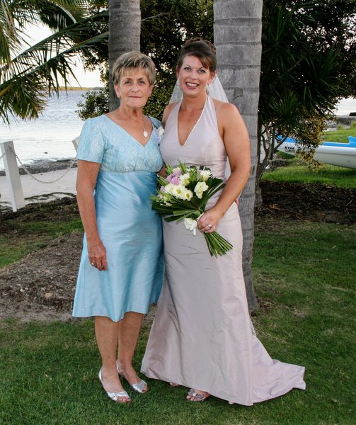 28th Feb 2009.  Sporting a Lorraine original on my Wedding Day.