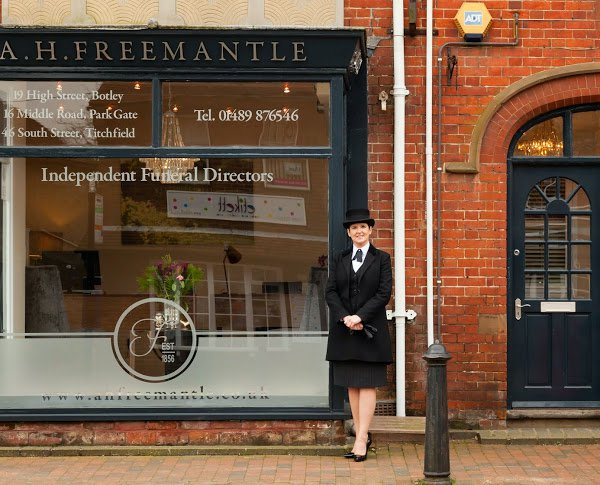 A. H. Freemantle, Botley, Hampshire, funeral director in Hampshire