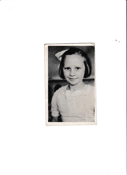 Mum. aged 11.
