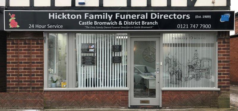 Hickton Family Funeral Directors, Castle Bromwich, Birmingham, funeral director in Birmingham