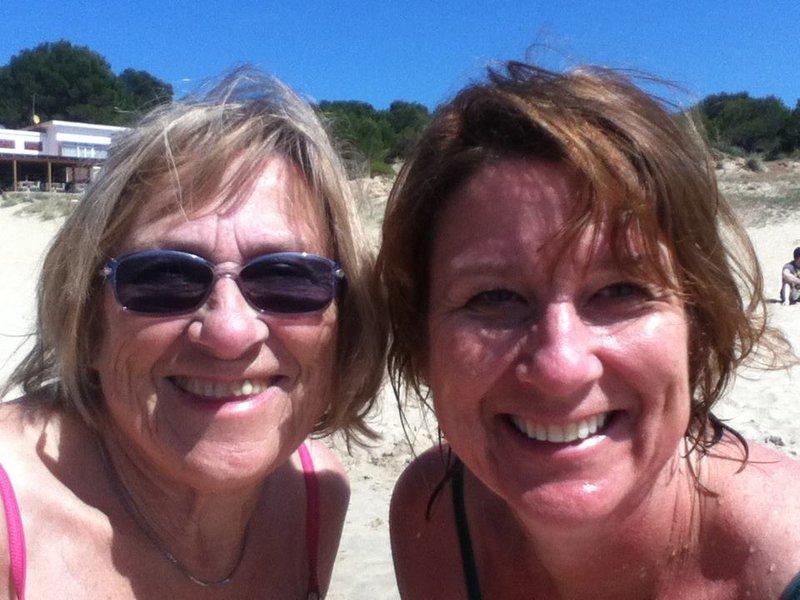 Mum and I at Arenal