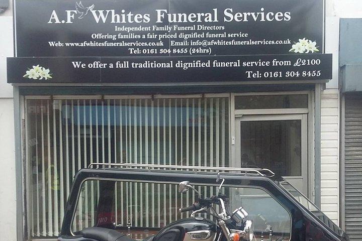 A.F Whites Funeral Services, Stalybridge
