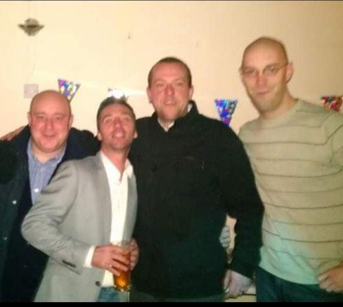 Me, Wiggy, Titch and Darren back in 2014
