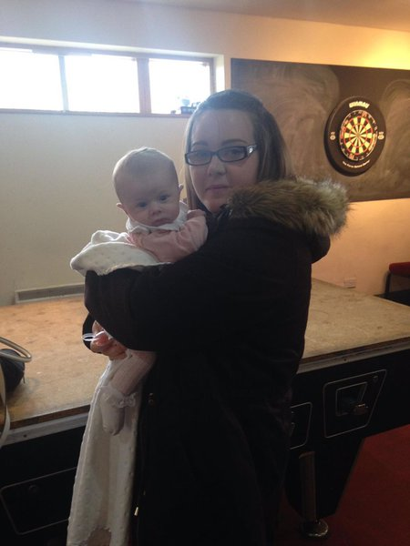 Your big sister Charlotte and your niece April xx
