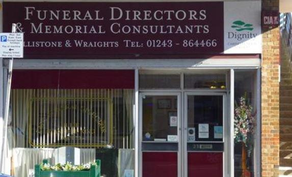 Dillistone & Wraights Funeral Directors, Bognor Regis