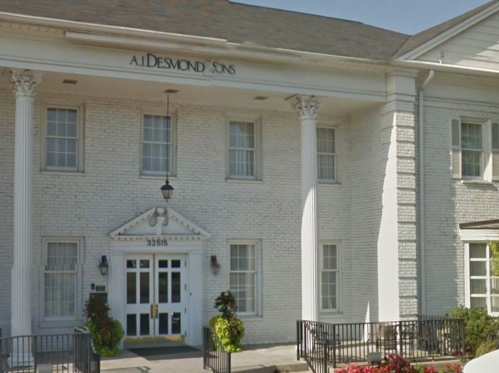 A.J. Desmond and Sons Funeral Home, Royal Oak