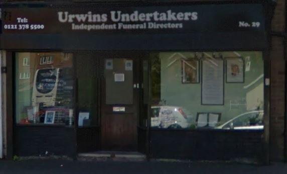 Urwins Undertakers Ltd, Sutton Coldfield