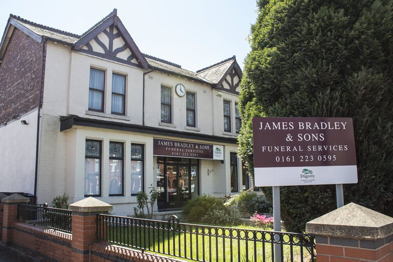 James Bradley & Sons Funeral Directors, Manchester, Greater Manchester, funeral director in Greater Manchester