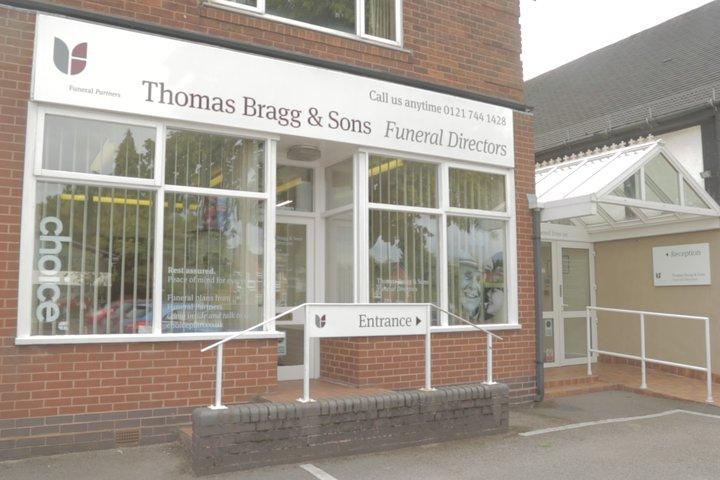 Thomas Bragg & Sons Funeral Directors, Shirley