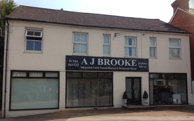 A J Brooke Funeral Directors, Bracknell Forest, funeral director in Bracknell Forest