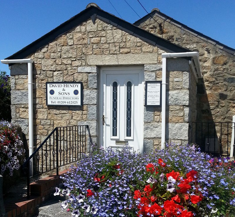 David Hendy Funeral Services, Cornwall, funeral director in Cornwall