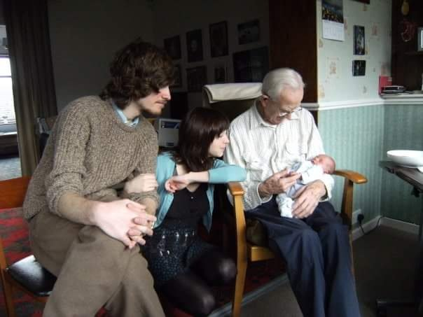 Meeting his Great Grandson Ira x
