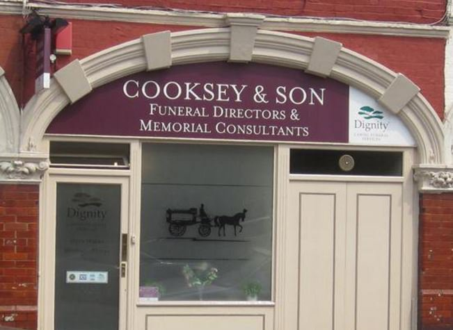 Cooksey & Son Funeral Directors, Muswell Hill, London, funeral director in London