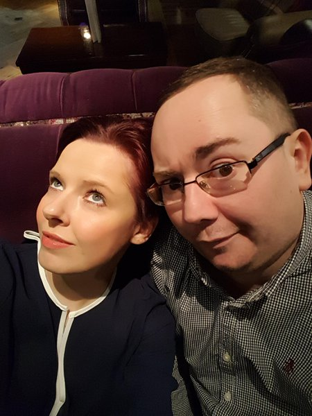 Only taken in January on one of our trips away. Pulling daft faces but having a laugh.... what we did best and making memories.  Love you xxxx
