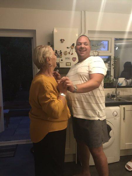 Paul with his mum ❤️
