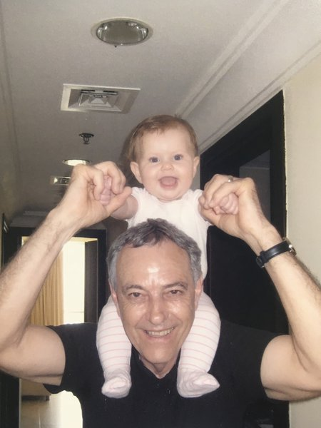 My absolute favourite photo of my dad with Sophie when she was a baby xxx