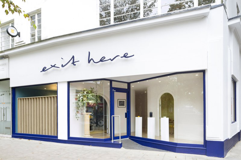 Exit Here, London, funeral director in London