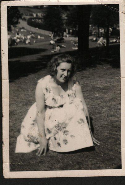 My mum Beryl (Nicholson) Jesshope at the tender age of about 19.