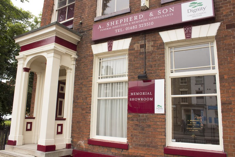 A Shepherd & Sons Funeral Directors, Kingston upon Hull, funeral director in Kingston upon Hull