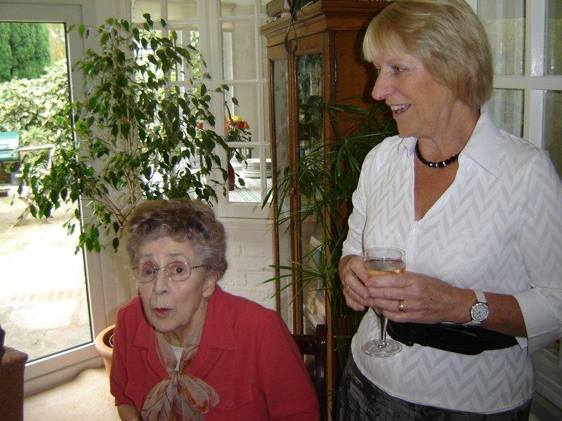 Vera and Judy and Greta's 80th